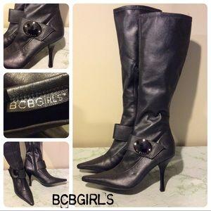 BCBGIRLS Slate Knee High Boots